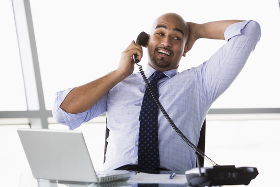 Sales management and phone calls